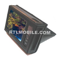 MP4 leather case