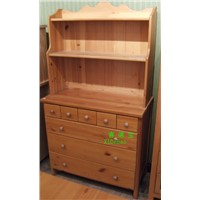 wooden cabinet(knock down