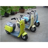 super cute E powered mini scooter