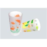 Seven color cups