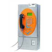 Outdoor Coin-Card Payphone