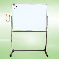 movable stand and revolving whiteboard