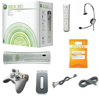XBOX 360 Premium System Bundle w/ Games and Access
