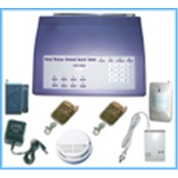 Wireless/Wire Burglar Alarm System-LY2008-V