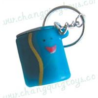 plastic toys-cola key chain