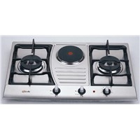 Stainless Steel Hob DH621