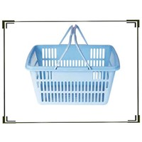 Plastic Shopping Basket HB-002
