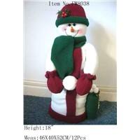 Snowman W/Snowball