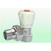Radiator valve angle