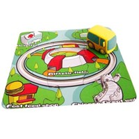 Puzzle Tracking Wind Up Cars