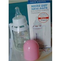 125ml glass feeding bottle