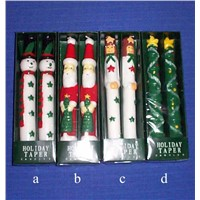 CHRISTMAS CANDLE TAPER C0116
