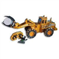 Full function remote control construction truck