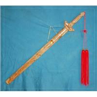 peach wooden swords
