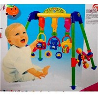 Baby music gymnastic shelf