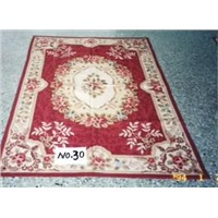 Needle point rugs