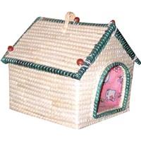 straw pet houses