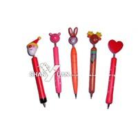 wooden cartoon pen