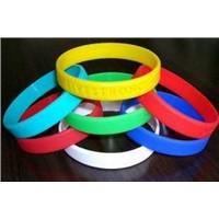 silicon bracelet/wrist band