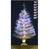 Fibre Optic Christmas Tree with C7 Bulbs blinker