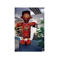 moving mascots/inflatables