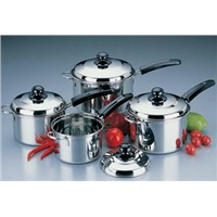 stainless steel cutlery and cookware