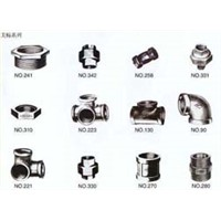 HIGH QUALITY MALLEABLE IRON PIPE FITTINGS