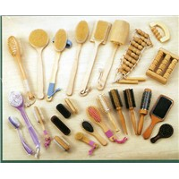 wood massage,brush,comb