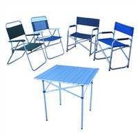 Aluminum Beach Chair & Table