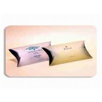 Cosmetic packaging Pillow Box PVC / PP / PET / PE