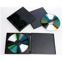 PP 5.2mm Black Single Slim CD Case