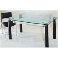 marble&glass dining table