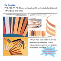 PVC edge banding, T-molding, PVC membrane film