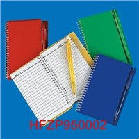 SPIRAL NOTE BOOKS & PEN SETS