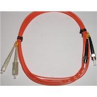 Optical Fiber Duplex Multimode ST to SC