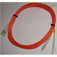 Optical fiber cable Duplex Multimode LC to LC 5M