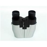 Electronic power zoom binocular