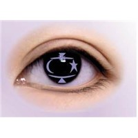 star signs contact lens