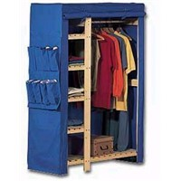 wooden clothespress