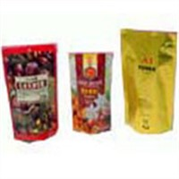 Custom Printed Plastic Packaging Bags, Food Pack