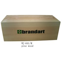 wooden box for shoes