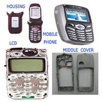 mobile phone,LCD,housing,middle cover