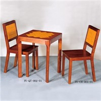 Quadrate Table and Chair