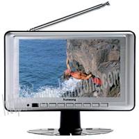 7 inch ERECT DVB-T TFT LCD TV