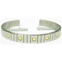 titanium or stainless steel bracelet ring pendent