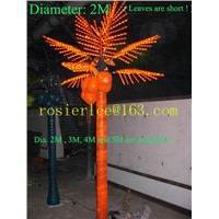 Palm tree coconut tree outdoor lighting tree li