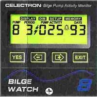 Bilge pumps activity monitors