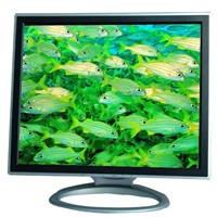 17 Inch TFT LCD monitor 3in1