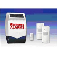 Wireless Alarm System with the Solar Panel