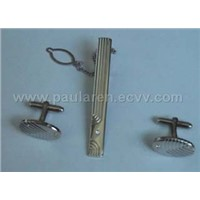 Cufflinks and tieclips